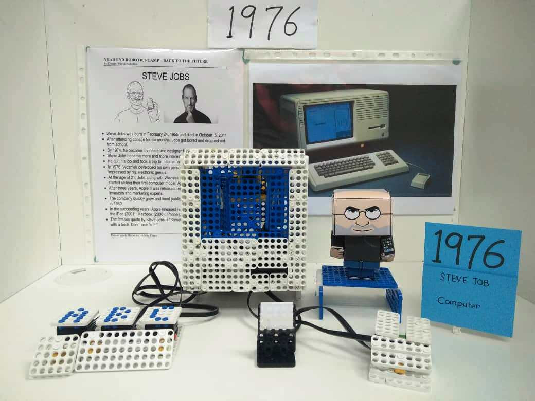 dream world robotics - back to future-EXHITIBITION-STEVE JOBS