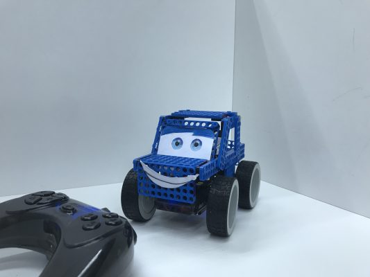 Dream World Robotics DIY Big Wheel Remote Control Car