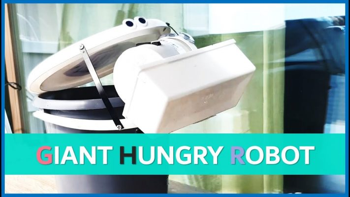 giant hungry robot