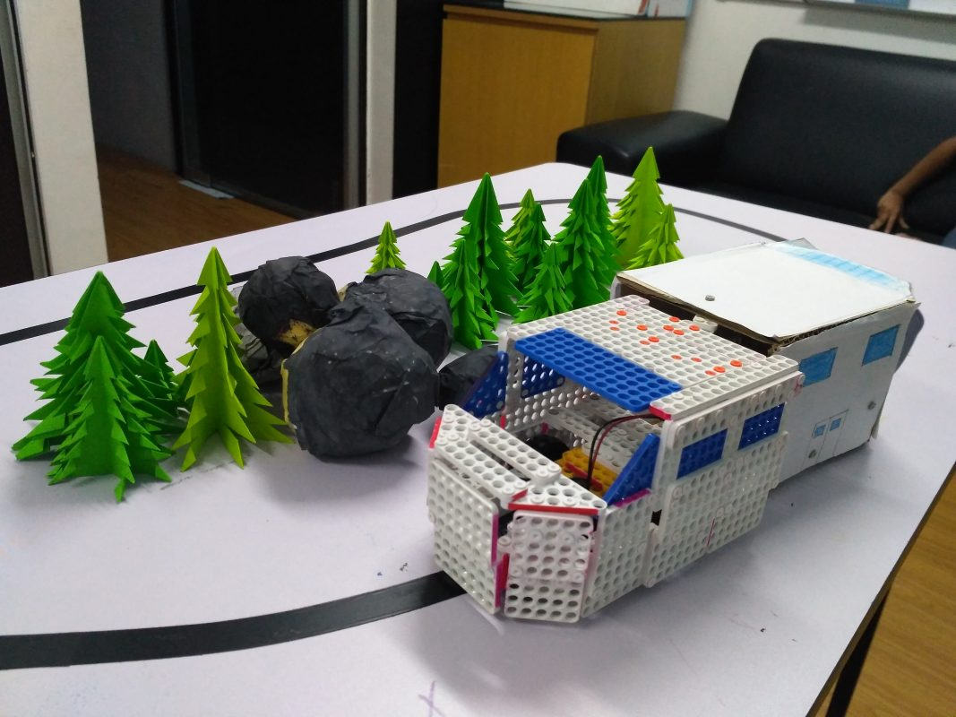 Dream World Robotics Camp_The Vehicle World