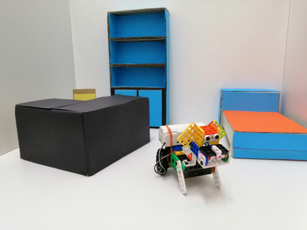 Smart Home Puppy Robot - Dream World Robotics