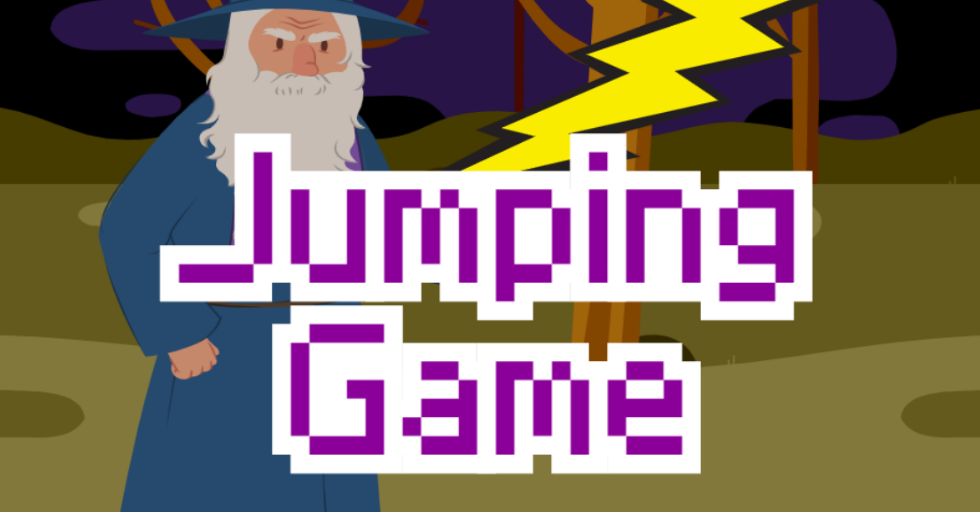 Dream World Robotics Game Coding CLass - Jumping Game