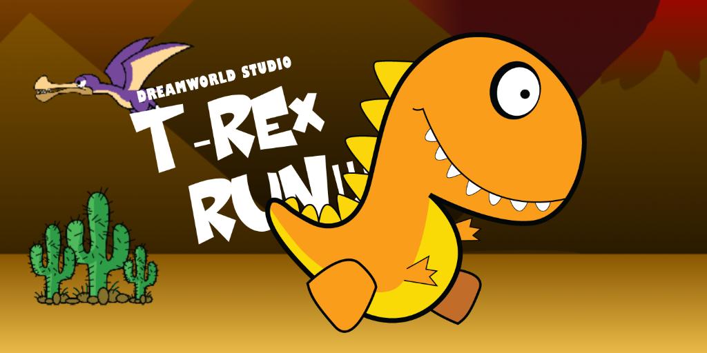 Dream World Robotics Game Coding, T-rex Run (PC)1