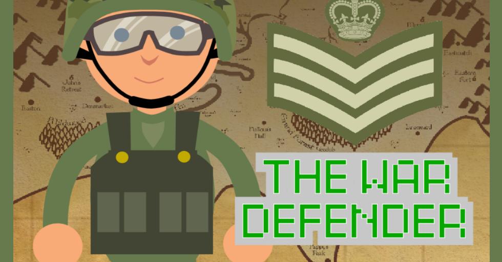 Dream World Robotics Game Coding Class - War Defender Game1