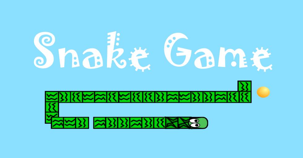Dream World Robotics Game Coding Class - snake game poster