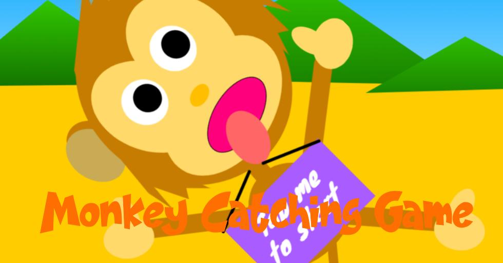 dream world robotics game coding class - monkey catching game