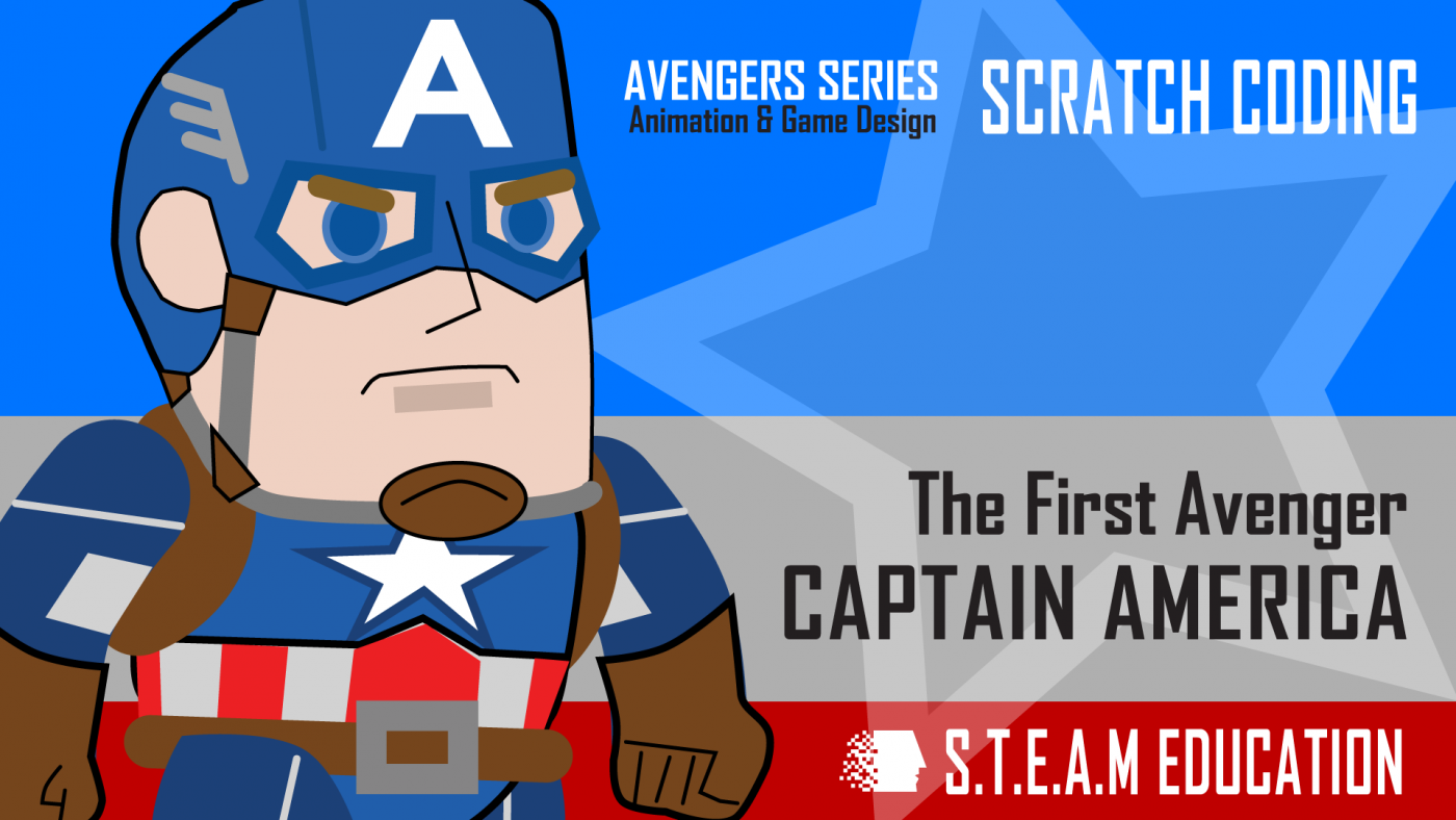 Scracth Coding Workshop - Captain America